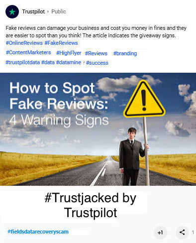 How to spot fake reviews on trustpilot